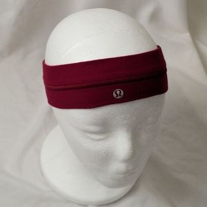 Lululemon Burgundy Headband